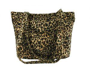 LONI Jungle Cross-body Shoulder Bag Handbag in Faux Fur Animal Print